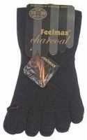 Feelmax Zehensocken mit Funktion Charcoal Anthrazit