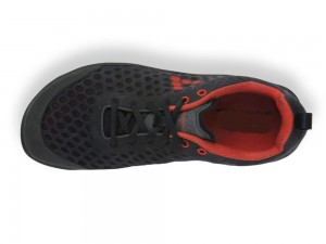 Vivobarefoot Stealth 2 Black/Red Men – Bild $_i