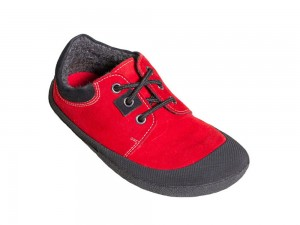 Pan Red/Black Unisexschuh Gr. 30-35 – Bild 4