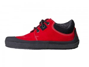 Pan Red/Black Unisexschuh Gr. 30-35 – Bild 1