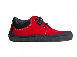 Pan Red/Black Unisexschuh Gr. 30-35 – Bild 5