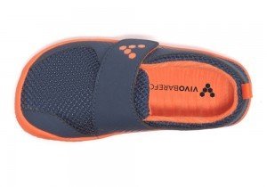 Vivobarefoot Mini Primus Navy/Orange – Bild $_i