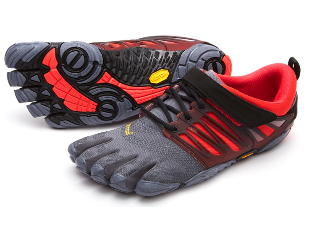 V-Train - Grey/Black/Red